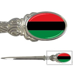 Pan African Flag  Letter Openers by abbeyz71