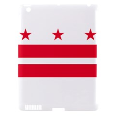Flag Of Washington, Dc  Apple Ipad 3/4 Hardshell Case (compatible With Smart Cover)