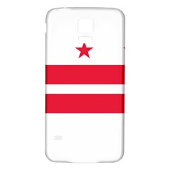 Flag Of Washington, Dc  Samsung Galaxy S5 Back Case (white)