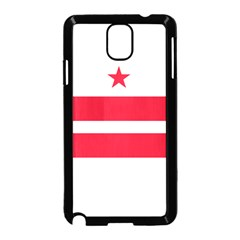 Flag Of Washington, Dc  Samsung Galaxy Note 3 Neo Hardshell Case (black)