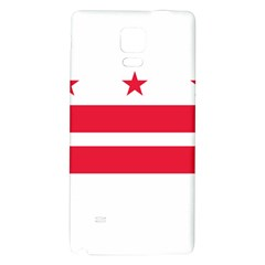 Flag Of Washington, Dc  Galaxy Note 4 Back Case