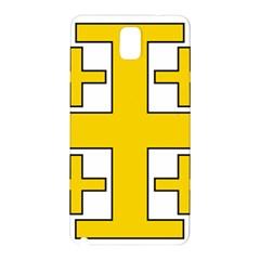 Jerusalem Cross Samsung Galaxy Note 3 N9005 Hardshell Back Case