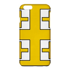 Jerusalem Cross Apple Iphone 6 Plus/6s Plus Hardshell Case