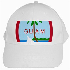 Seal Of Guam White Cap