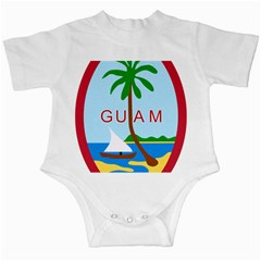 Seal Of Guam Infant Creepers