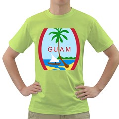 Seal Of Guam Green T Shirt by abbeyz71