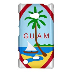 Seal Of Guam Nokia Lumia 720 by abbeyz71
