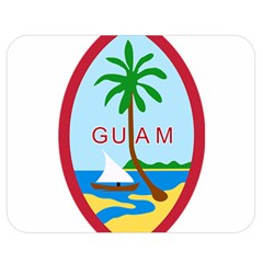 Seal Of Guam Double Sided Flano Blanket (medium)  by abbeyz71
