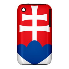Slovak Air Force Roundel Apple Iphone 3g/3gs Hardshell Case (pc+silicone)