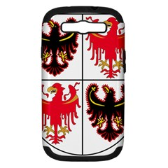 Coat Of Arms Of Trentino Alto Adige Sudtirol Region Of Italy Samsung Galaxy S Iii Hardshell Case (pc+silicone) by abbeyz71