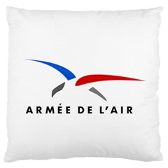 Logo Of The French Air Force  Large Flano Cushion Case (two Sides) by abbeyz71