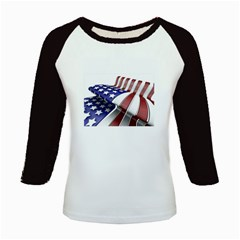 Flag Kids Baseball Jersey by MyVarietyWorld