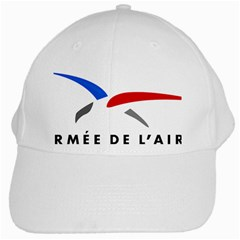 Logo Of The French Air Force (armee De L air) White Cap by abbeyz71