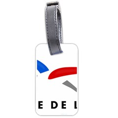 Logo Of The French Air Force (armee De L air) Luggage Tags (two Sides) by abbeyz71