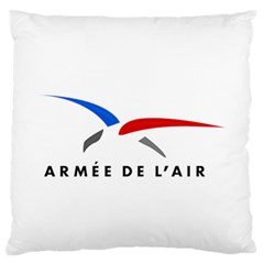 Logo Of The French Air Force (armee De L air) Standard Flano Cushion Case (two Sides) by abbeyz71