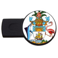 Coat Of Arms Of The Bahamas Usb Flash Drive Round (2 Gb)  by abbeyz71