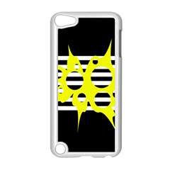 Yellow Abstraction Apple Ipod Touch 5 Case (white)
