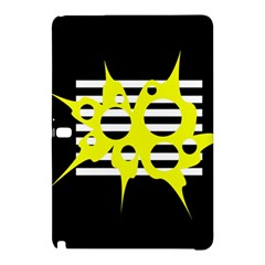 Yellow abstraction Samsung Galaxy Tab Pro 10.1 Hardshell Case by Valentinaart
