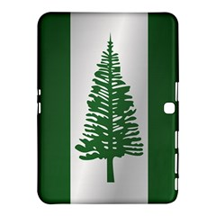 Flag Of Norfolk Island Samsung Galaxy Tab 4 (10.1 ) Hardshell Case  by artpics