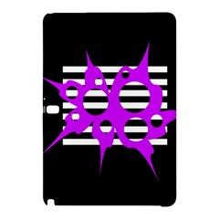 Purple Abstraction Samsung Galaxy Tab Pro 10 1 Hardshell Case by Valentinaart