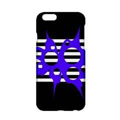 Blue Abstract Design Apple Iphone 6/6s Hardshell Case