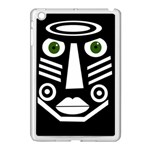 Mask Apple iPad Mini Case (White) Front
