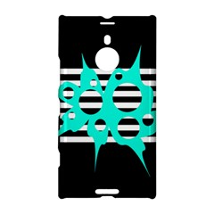 Cyan abstract design Nokia Lumia 1520 by Valentinaart