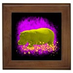 0hippo-Flames4-15x15 Framed Tile