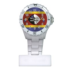 Flag Of Swaziland Plastic Nurses Watch by artpics