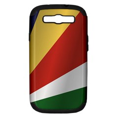Flag Of Seychelles Samsung Galaxy S III Hardshell Case (PC+Silicone) by artpics