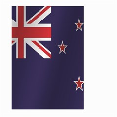 Flag Of New Zealand Large Garden Flag (Two Sides) by artpics