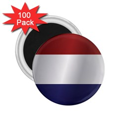 Flag Of Netherlands 2.25  Magnets (100 pack)  by artpics