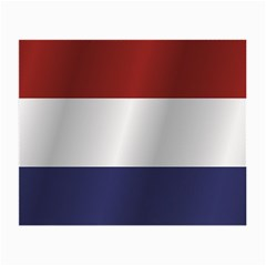Flag Of Netherlands Small Glasses Cloth (2-Side)