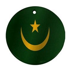 Flag Of Mauritania Ornament (Round)  by artpics