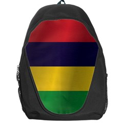 Flag Of Mauritius Backpack Bag by artpics