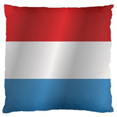 Flag Of Luxembourg Standard Flano Cushion Case (Two Sides) by artpics