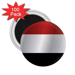 Flag Of Yemen 2.25  Magnets (100 pack)  by artpics