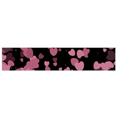 Pink Love Flano Scarf (small) by TRENDYcouture
