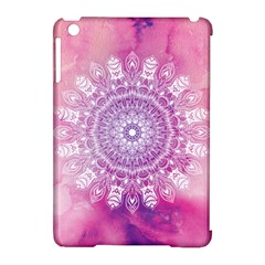 Pink Watercolour Mandala Apple Ipad Mini Hardshell Case (compatible With Smart Cover) by TanyaDraws