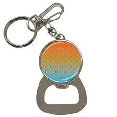 Ombre Fire And Water Pattern Bottle Opener Key Chains by TanyaDraws