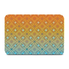 Ombre Fire And Water Pattern Plate Mats by TanyaDraws