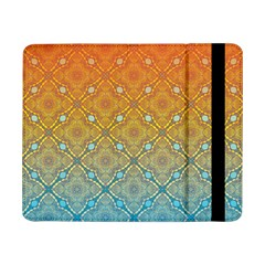 Ombre Fire And Water Pattern Samsung Galaxy Tab Pro 8 4  Flip Case by TanyaDraws