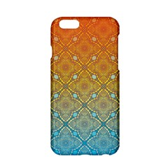 Ombre Fire And Water Pattern Apple Iphone 6/6s Hardshell Case