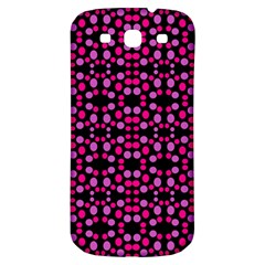 Dots Pattern Pink Samsung Galaxy S3 S Iii Classic Hardshell Back Case