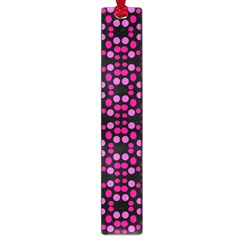 Dots Pattern Pink Large Book Marks by BrightVibesDesign