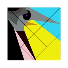 Angry bird Acrylic Tangram Puzzle (6  x 6 ) by Valentinaart