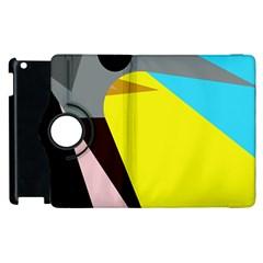 Angry Bird Apple Ipad 2 Flip 360 Case by Valentinaart