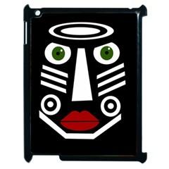African Mask Apple Ipad 2 Case (black) by Valentinaart