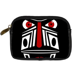 African Red Mask Digital Camera Cases by Valentinaart