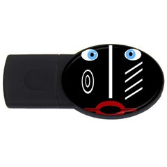 Decorative Mask Usb Flash Drive Oval (2 Gb)  by Valentinaart